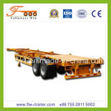 40feet 2axle Skeletal Container Semi Trailer