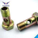 Acero de la inserción/de carbón del tubo/tornillo Hex de la bisagra con cinc del color