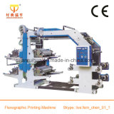 Impresora de papel flexográfica de 4 colores
