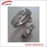 Нержавеющая сталь 304 Санитарный трубопроводная арматура Tri-Clover зажим