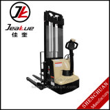 Empilhador elétrico cheio de apoio largo barato do pé do preço 1.2t