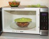 Un insieme della ciotola standard termoresistente di aspirazione del silicone della FDA 5, vaschetta, tazza, coperchi del contenitore