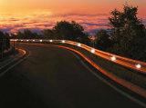 Luz impermeable del LED Señales de guía Señal de tráfico solar Luz de guardia