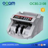 POSのためのお金の探知器が付いている銀行券のビル通貨のカウンター