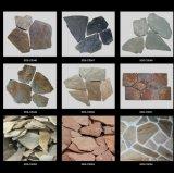 Piedra Natural Rusty Meshed pizarra pavimentación para exterior
