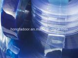 透過PVCカーテンのストリップ/ポリエステルドア・カーテン(HF-K59)