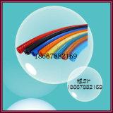 Tubo trenzado de la fibra de la PU de la cubierta doble
