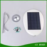 Revérbero de controle remoto solar flexível da potência solar de lâmpada de parede do diodo emissor de luz mini