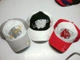 Подгонянная бейсбольная кепка вышивки способа 3D