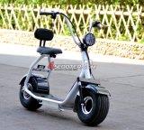 LEDライト2016 60V子供のHarleyの卸売のための電気蹴りのスクーターとの二重シートCitycoco Scrooser