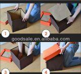 Tamborete encantador do armazenamento da série do projeto do barramento dos miúdos do poliéster 600d