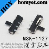Переключатель скольжения изготовления SMD с Pin 3 (MSK-1127)