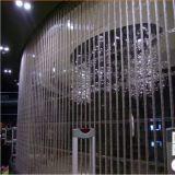 Deur van de Poort van de Winkel van de Deur van het Rolling Blind van de Deur van de Rol van het kristal de Transparante