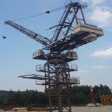 Kranbalken-Turmkran des Luffing-Qtd4015 verwendet im Aufbau-Gebäude