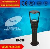 Indicatore luminoso solare di alluminio del giardino di alta luminosità di IP65 3W