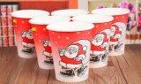 Weihnachtswegwerfkaffee-Papiercup