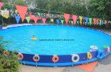 De Met een laag bedekte Stof van de polyester pvc voor Zwembad Tb091