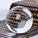 Fengshui Clear Crystal Ball mit/Without Base für Home Decoration