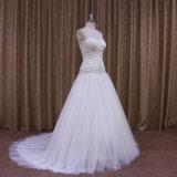 Schein bördelt Personlised Ivory Hochzeits-Kleider