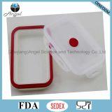 Caixa de almoço Foldable Sfb04 de Tiffin do silicone do armazenamento do alimento do silicone 800ml