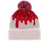 Зимы способа конструкции OEM шлемы 2016 Beanie большой теплые связанные
