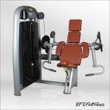 つけられていた二頭筋の体操、二頭筋のカール、二頭筋機械(BFT-2003)