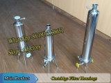Filtro de cartucho de 1 / H Carcaça de filtro de aço inoxidável