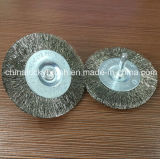 Wire d'acciaio Polishing Wheel Brush con 6mm Shank (YY-232)