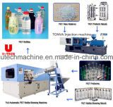 Machine de moulage d'animal familier de bouteille d'eau de coup en plastique automatique d'extension
