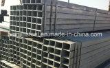 Q235, Q345black / galvanizado Plaza de tubería de acero