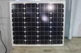 12V Mono Solar Panel 50W pour l'off-Grid System