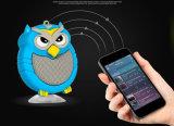 Altofalante sadio móvel creativo estereofónico portátil de Bluetooth da arte da coruja mini