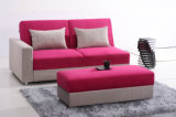 Домашняя мебель складывая самомоднейшую кровать софы ткани