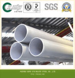 Pipe décorative soudée par qualité de l'acier inoxydable Ss201