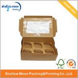 Großverkauf 6 des Packpapier-Kuchen-Sätze Kasten-(QYZ070)