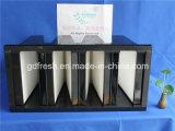 V-Упакуйте твердый фильтр, фильтры кассеты, фильтры V-Крена HEPA