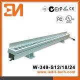 LED媒体の正面の照明壁の洗濯機(H-349-S12-RGB)