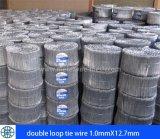 Collegare del legame del tondo per cemento armato del Doppio-Ciclo in 1.0mm-1.8mm