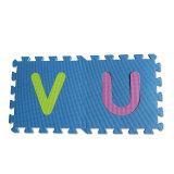 子供のためのスリップ防止非臭いのKamiqiのアルファベットのエヴァの泡のジグソーパズルの床のマット