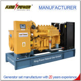 gerador importado do gás natural de 200kw Doosan (motor) com radiador doméstico