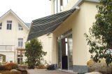 Neues Motorzied Semi Cassette Retractable Awnings mit Solution Dyed Acrylic Fabric