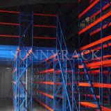 Industrielle Lager-Speicher-Mezzanin-Fußboden-Zahnstange