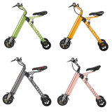 """Bicicleta de dobramento elétrica/""""trotinette"""" das rodas super da luz 11kg três mini"""