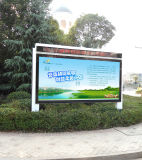 LED Screen Display Outdoor Roadside Scrolling Advertizing Light Boxを使って