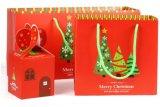 Weihnachtsdrucken-fördernder Papiergeschenk-Beutel/Einkaufstasche