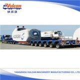 Kundenspezifischer schwerer Maschinen-Transport Lowbed halb LKW-Schlussteil