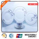 jogo de jantar cerâmico de 20PCS Handpainting com o copo de café da caneca da placa