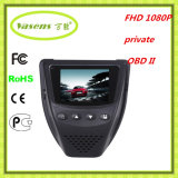 OBD II 24 Horas DVR monitor Full HD de coches