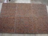 Камень природы гранита плитки стены клена Китая G562 красный крытый