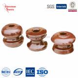 Tipo di ceramica elettrico ANSI dell'anello di trazione del Brown dell'annata degli isolanti della porcellana